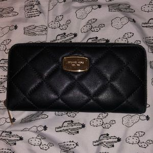 MK Quilted Wallet